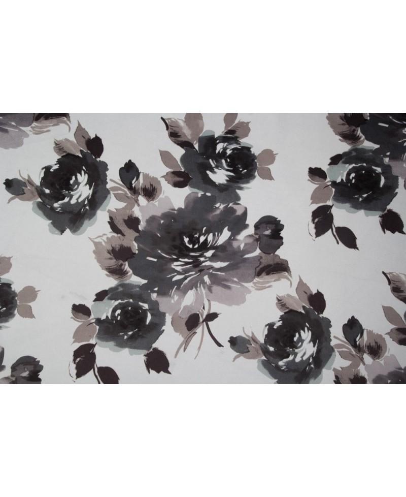 Tela NIVIA 1 terciopelo con rosas
